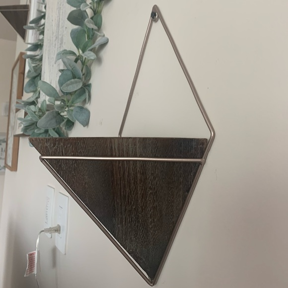 Other - Triangle faux plant holder